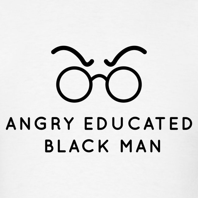Angry Educated Black Man Official Logo