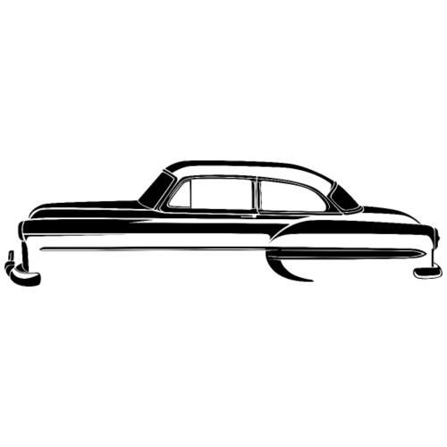 1953 Chevrolet Bel Air 2 Door Sedan Black T-Shirt