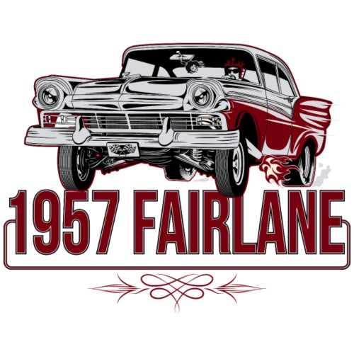 Twisted Farlaine 1957 Gasser - Men's T-Shirt