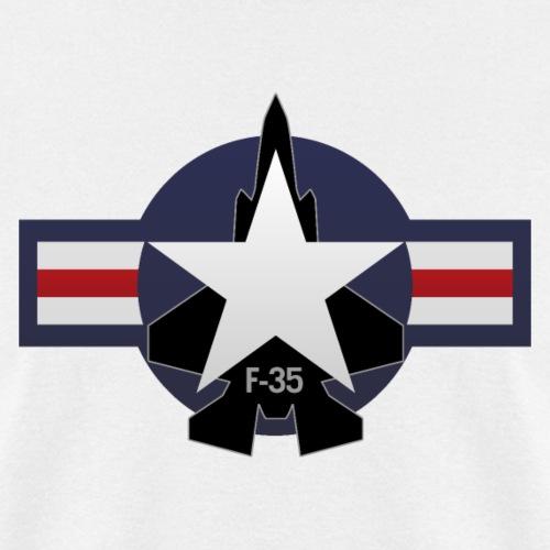 F-35 Lightning II Military Jet Fighter Aircraft - Men's T-Shirt
