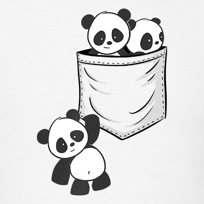 For Panda Lovers Cute Kawaii Baby Pandas In Pocket