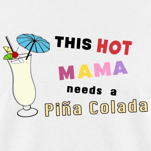 Pina Colada Liquor Refreshment Coconut Mixologist. - Men's T-Shirt