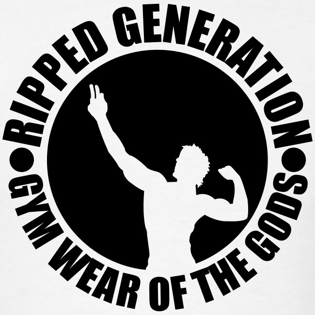 Ripped Generation Gym Wear of the Gods Badge Logo