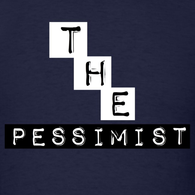 """""""The Pessimist"""" Abstract Design"""