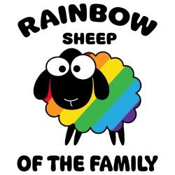 Rainbow sheep of the family