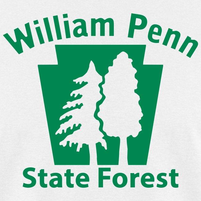William Penn State Forest Keystone (w/trees)