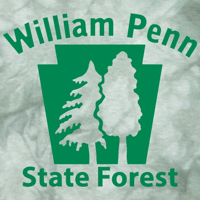 William Penn State Forest Keystone (w/trees)