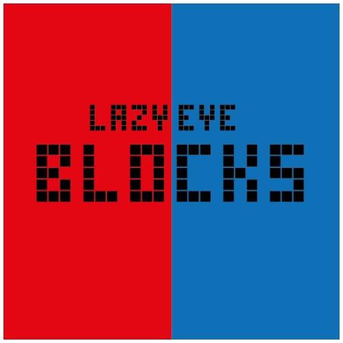 Lazy Eye Blocks - Men's T-Shirt