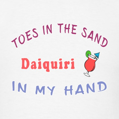 Daiquiri Liqueur Seashore Waterfront Fruitarian. - Men's T-Shirt