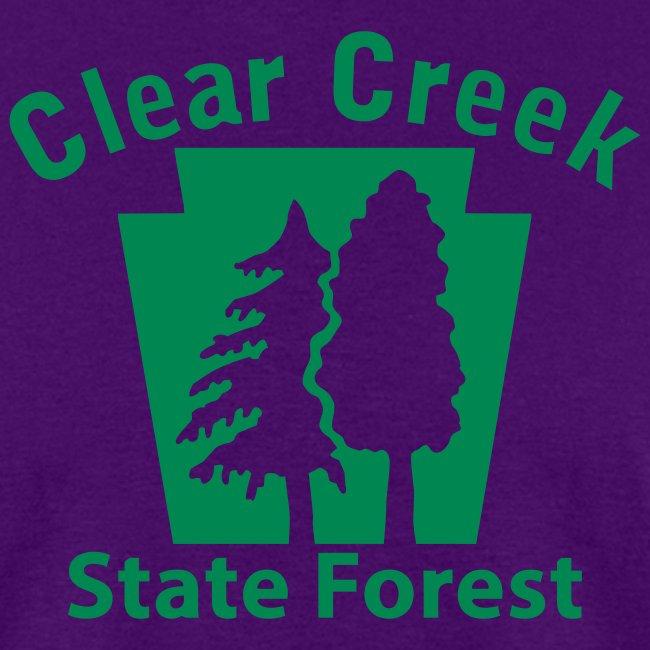 Clear Creek State Forest Keystone (w/trees)