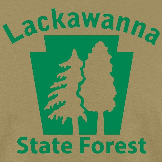 Lackawanna State Forest Keystone (w/trees)