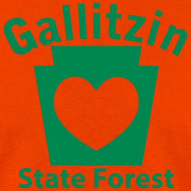 Gallitzin State Forest Keystone Heart