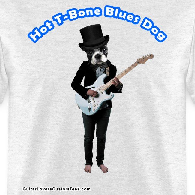 BluesDog by GuitarLoversCustomTees png