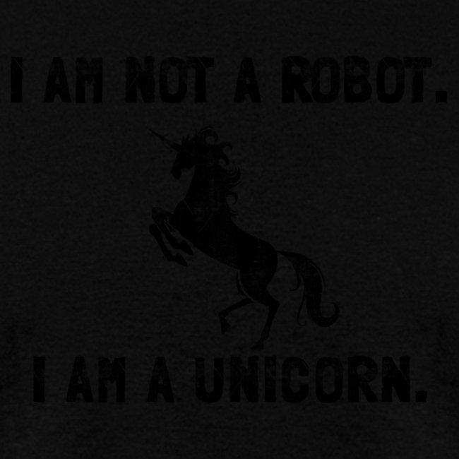 unicorn tall black