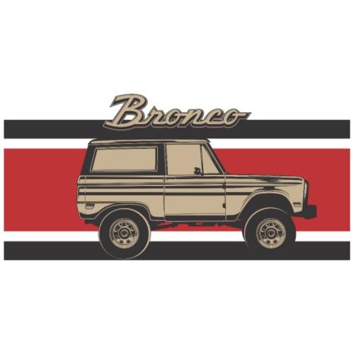 Bronco Truck Billet Design Men's T-Shirt - Men's T-Shirt