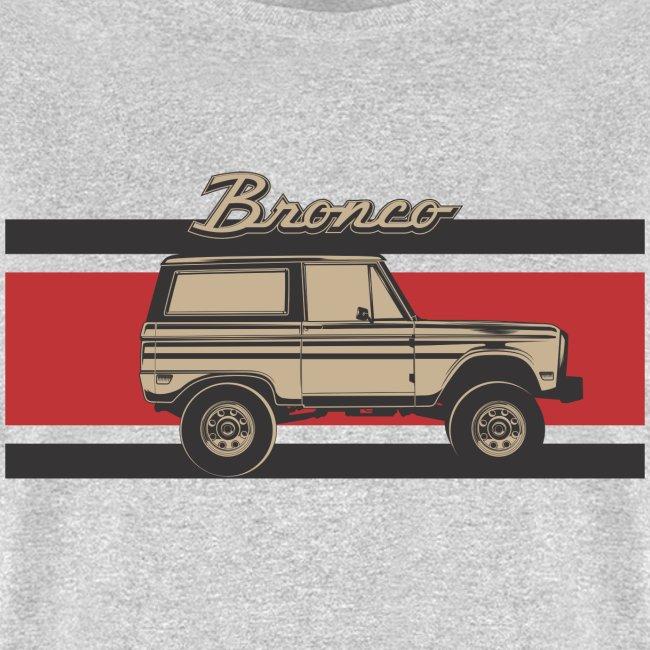 Bronco Truck Billet Design Men's T-Shirt