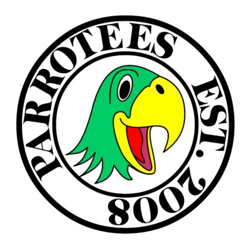 Parrotees Logo - Men's T-Shirt