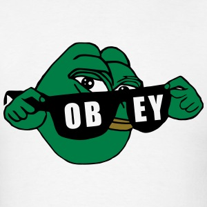 Pepe the Frog Sunglasses Obey - Men's T-Shirt