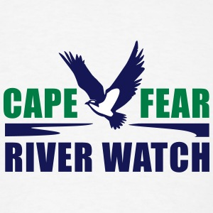 Cape Fear River Watch Logo - Men's T-Shirt