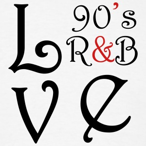 i Love 90s R&B - Men's T-Shirt
