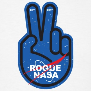 Rogue Nasa - Peace - Men's T-Shirt