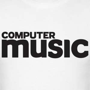 Limited Edition Computer Music tee's - Men's T-Shirt