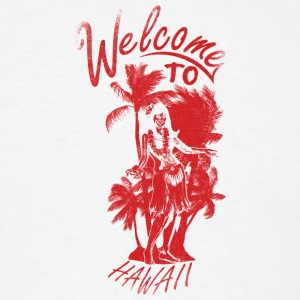 welcome_to_hawaii_red - Men's T-Shirt
