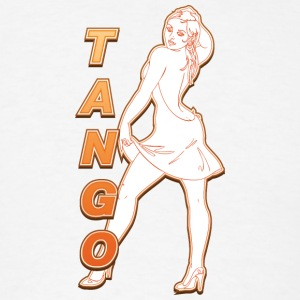 Tango_with_sexy_woman_colored - Men's T-Shirt