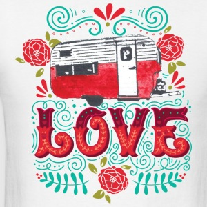 Vintage Camper Love - Men's T-Shirt