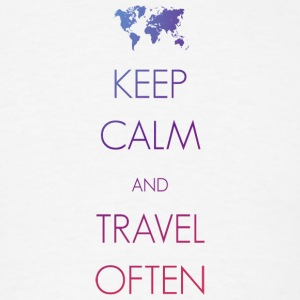 Keep calm and travel often - Men's T-Shirt