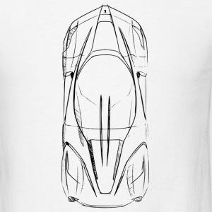 Laferrari Ferrari Drawing - Men's T-Shirt