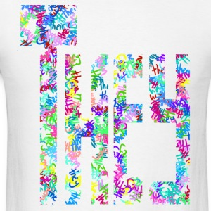 They/Them/Their Pattern They - Men's T-Shirt