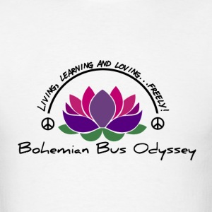 Bohemian Bus Odyssey Basic Logo - Men's T-Shirt