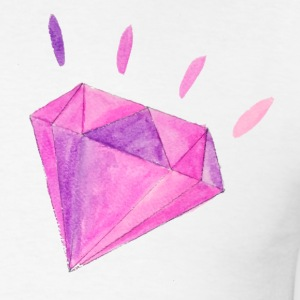 Watercolor Diamond - Men's T-Shirt