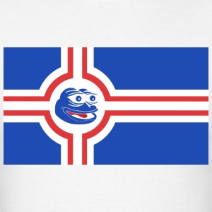 Icelandic Pepe the Frog - Men's T-Shirt