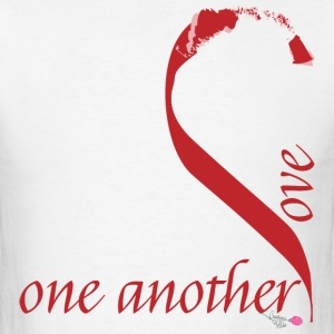 Love_one_another - Men's T-Shirt