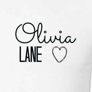 Olivia Lane Heart - Men's T-Shirt