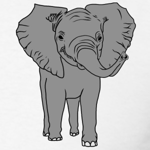 Baby Elephant 1.1 - Men's T-Shirt