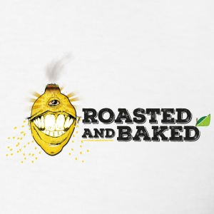 ROASTED AND BAKED LEMON - Men's T-Shirt