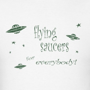 CE3_-_Flying_Saucers - Men's T-Shirt