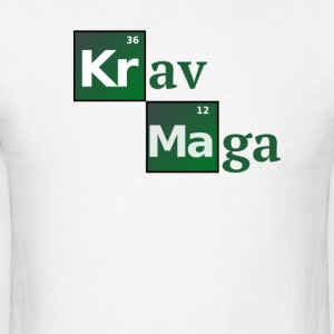 Krav Maga Periodic Table of the elements - Men's T-Shirt