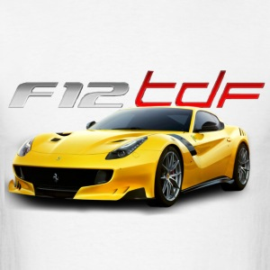 ferrari f12 tdf - Men's T-Shirt