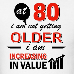 Funny 80 year old gifts - Men's T-Shirt