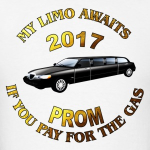Class of 2017 Prom My Limo Awaits - Men's T-Shirt