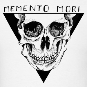 Memento Mori (Black) - Men's T-Shirt