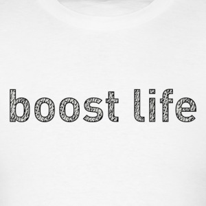 Turtle Dove Boost Life Short Sleeve T-Shirt - Men's T-Shirt