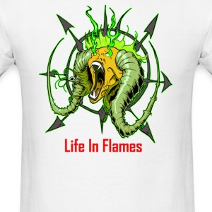 Life In Flames - Men's T-Shirt