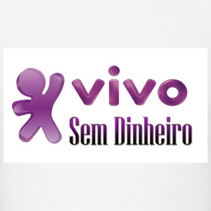 VIVO SEM DINEIRO - Men's T-Shirt