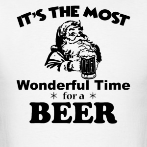 It's Most Wonderful Time For Beer Tshirt - Men's T-Shirt