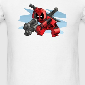 lego deadpool - Men's T-Shirt